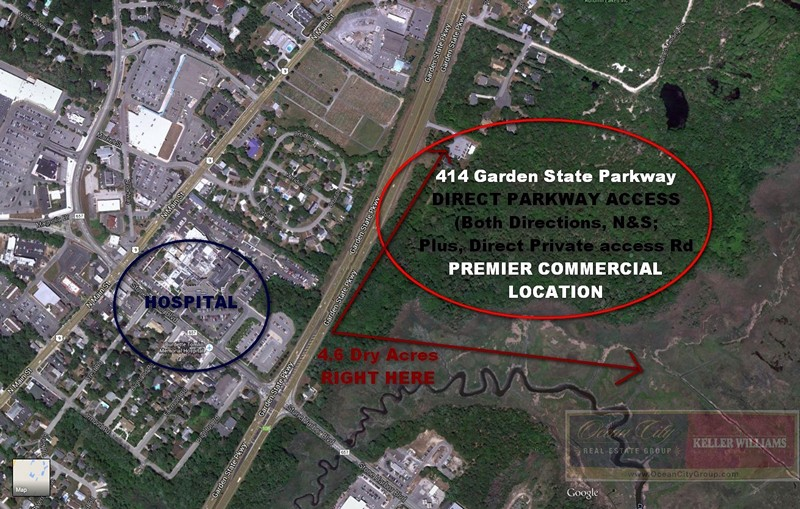 414 Garden State Parkway, Cape May Court House NJ 08210, Ocean City NJ Real Estate Group, Keller Williams Realy South Jersey Team Commercial Real Estate For Sale 2
