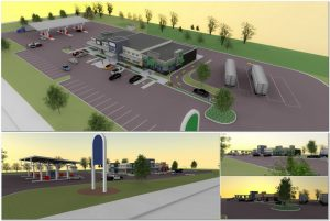 Gas station service stop for sale, commercial, doliszny