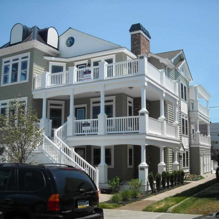 Beach Houses For Rent In Ocean City: 913 Wesley Avenue, Unit C, Ocean City, NJ 08226