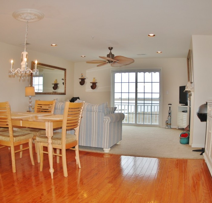 Waterfront Townhome Boasts Cool Urban Style: 60 Dockside Dr, Somers Point NJ 08244