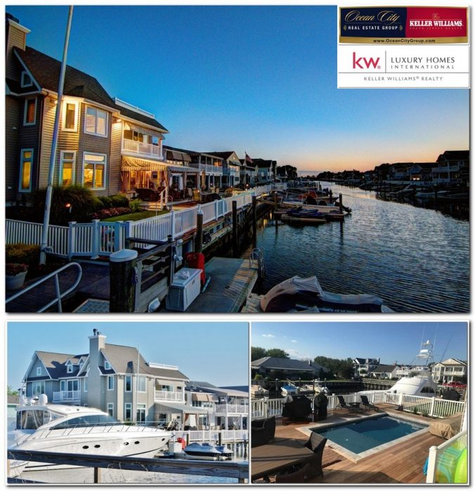 Luxury Waterfront Homes: 6 Grenada Ln, Ocean City NJ 08226, Waterfront Home