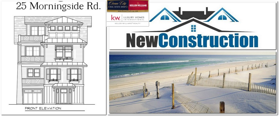 Luxury New Construction Home, Kristina Doliszny Ocean City Real Estate Group