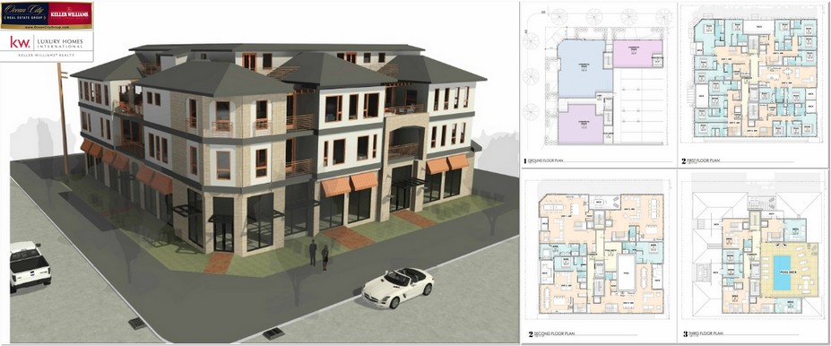 Ocean City NJ Development Multi Family Commercial